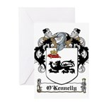 O'Kennelly Coat of Arms Greeting Cards (Pk of 20)