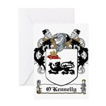 O'Kennelly Coat of Arms Greeting Card