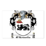 O'Kennelly Coat of Arms Postcards (Package of 8)