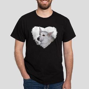 I Love My White German Shephe Dark T-Shirt