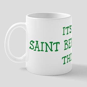 Saint Berdoodle thing Mug
