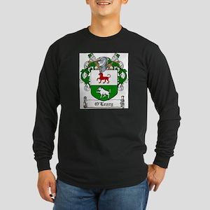 O'Leary Family Crest Long Sleeve Dark T-Shirt