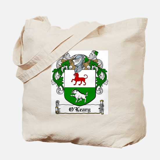 O'Leary Family Crest Tote Bag