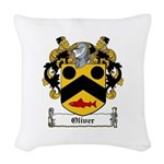 Oliver (Limerick)-Irish-9.jpg Woven Throw Pillow