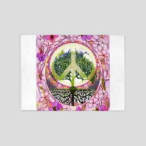 Inner Peace 5'x7'Area Rug