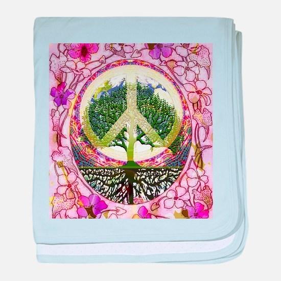Inner Peace baby blanket