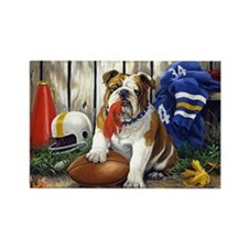 home bulldog gifts Rectangle Magnet