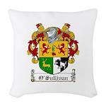 OSullivan (Kerry)-Irish-9.jpg Woven Throw Pillow