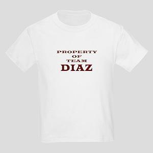 Property of team Diaz Kids T-Shirt