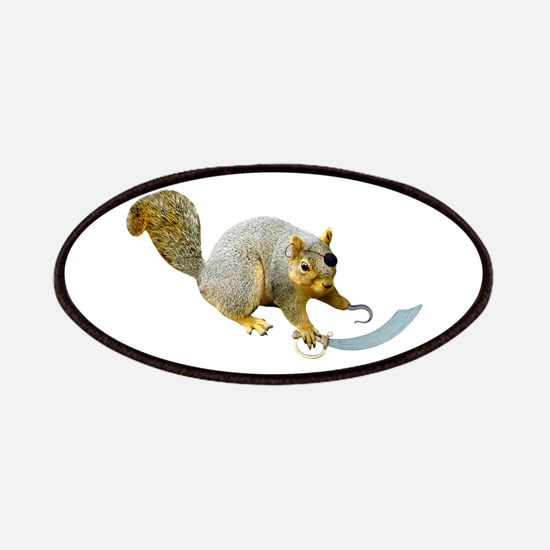 Pirate Squirrel Patches