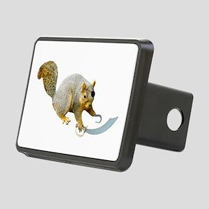 Pirate Squirrel Rectangular Hitch Cover