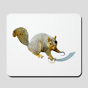Pirate Squirrel Mousepad