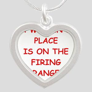 firing range Necklaces