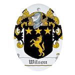 Wilson-Irish-9 Ornament (Oval)