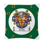 Tuohy Irish Coat of Arms Woven Throw Pillow