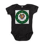 Tuohy Irish Coat of Arms Baby Bodysuit