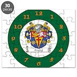 Tuohy Irish Coat of Arms Puzzle