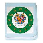 Tuohy Irish Coat of Arms baby blanket