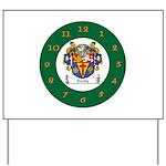 Tuohy Irish Coat of Arms Yard Sign