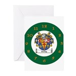 Tuohy Irish Coat of Arms Greeting Cards (Pk of 20)