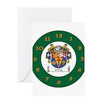 Tuohy Irish Coat of Arms Greeting Card
