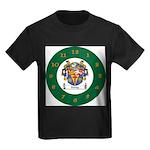 Tuohy Irish Coat of Arms Kids Dark T-Shirt