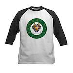 Tuohy Irish Coat of Arms Kids Baseball Jersey