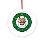 Tuohy Irish Coat of Arms Ornament (Round)