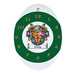 Tuohy Irish Coat of Arms Ornament (Oval)