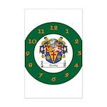 Tuohy Irish Coat of Arms Mini Poster Print