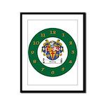 Tuohy Irish Coat of Arms Framed Panel Print