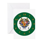 Tuohy Irish Coat of Arms Greeting Cards (Pk of 10)