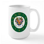 Tuohy Irish Coat of Arms Large Mug