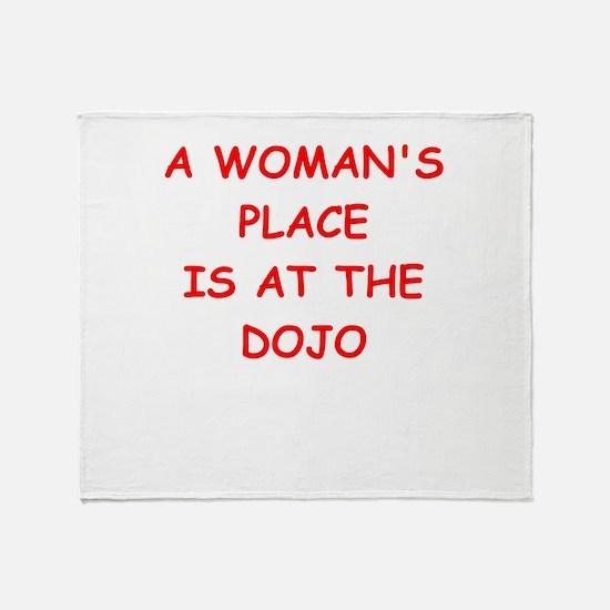 dojo Throw Blanket