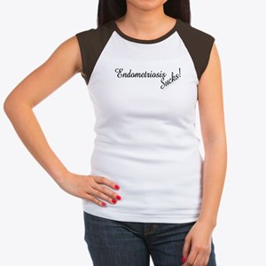 Endometriosis Sucks! Women's Cap Sleeve T-Shirt