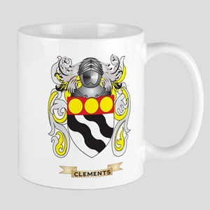 Clements Coat of Arms Mug