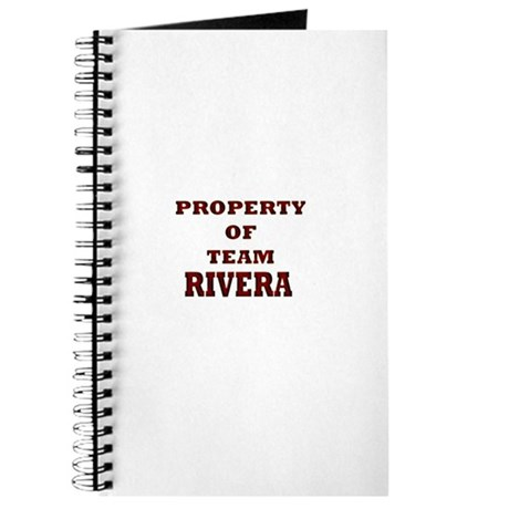 Property of team Rivera Journal