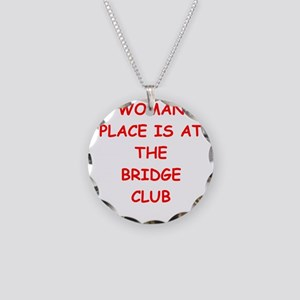 duplicate bridge Necklace