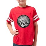 treecircle_grey Youth Football Shirt
