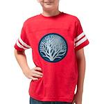 4-treecircle_blue Youth Football Shirt