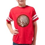 treecircle_red Youth Football Shirt