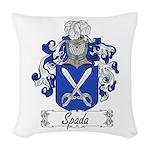 Spada_Italian.jpg Woven Throw Pillow