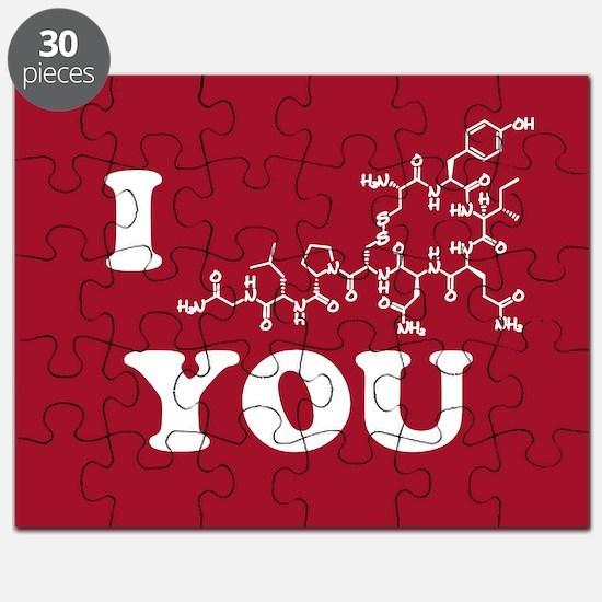 Oxytocin I Love You Puzzle