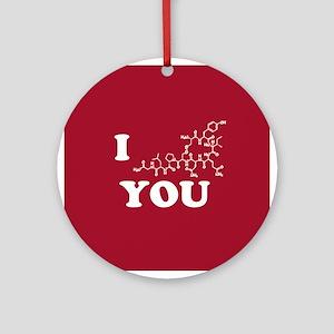 Oxytocin I Love You Ornament (Round)
