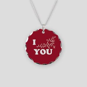 Oxytocin I Love You Necklace