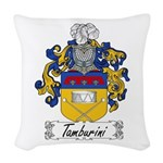 Tamburini_Italian.jpg Woven Throw Pillow