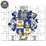 Tinelli Coat of Arms Puzzle