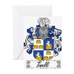 Tinelli Coat of Arms Greeting Card