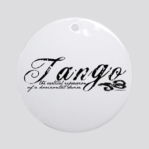 Tango Definition Ornament (Round)