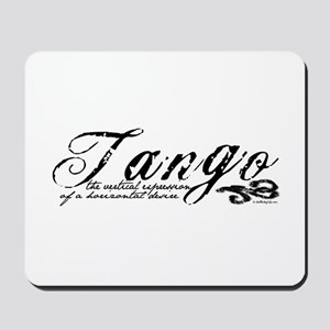 Tango Definition Mousepad